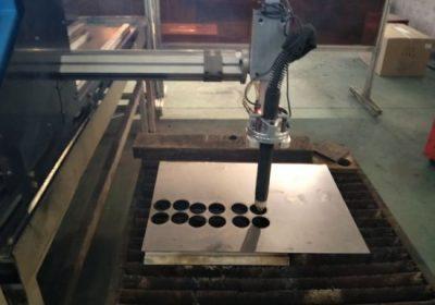 1525/1530 ur-kablea eramateko CNC eramangarri txikiak ebaketa plasma plasma CNC ebakitzailea