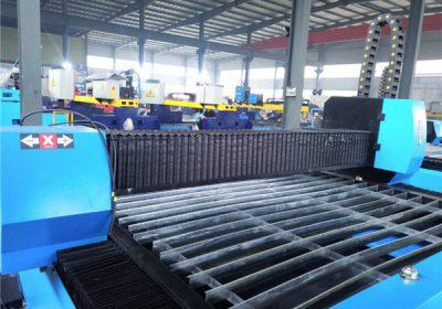 CNC aluminio ebaketa makina plasma metalezko aluminio ebakitzailea