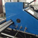 cnc eramangarria 43A energia plasma ebaketa makina START marka LCD panel kontrolatzeko sistema plasma makina prezioen ebaketa