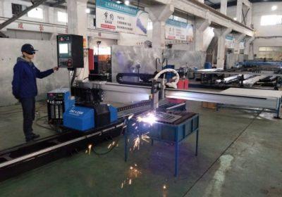 CNC eramangarri plasma sugarra kanalizazioa ebaketa makina Txinatik fabrika prezioa