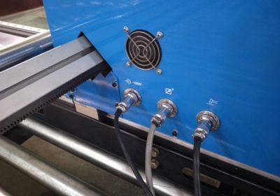 Gantry mota CNC Plasma ebaketa makina, altzairuzko plaka ebaketa makina plasma ebakitzailea