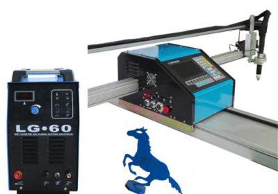 CNC automatikoa Altzairu herdoilgaitzezko kanalizazioa ebaketa makina Plasma ebaketa makina