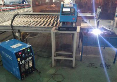 Gantry motako CNC Plasma ebaketa eta Plasma ebaketa makina, altzairuzko xafla ebaketa eta zulatzeko makina fabrikako prezioa