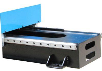 Big size Gantry Plasma ebaketa metalezko CNC plasma ebaketa makina Txina
