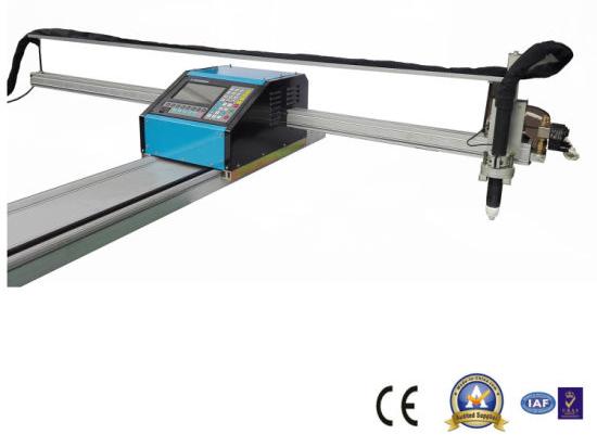 plasma bidezko kanalizazio eramangarria ebaketa makina metalezko tupe eta hodietarako